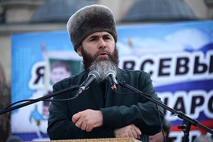 Chechen Islamic Mufti Salah-hajji Mezhiev (Photo courtesy of RusReality.com)