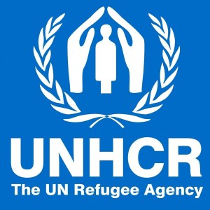 Logo of the Office of the U.N. High Commissioner for Refugees.