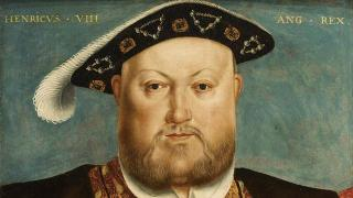 England's King Henry VIII, whose property grab in 1553 made gay sex a crime rather than a sin. (Painting by Hans Holbein the Younger courtesy of BBC)