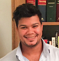 Lawyer Tashwill Esterhuizen, head of the LGBTI and Sex workers Rights Programme at the Southern Africa Litigation Centre. (Photo courtesy of SALC)