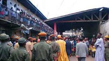 Central prison of Yaoundé.