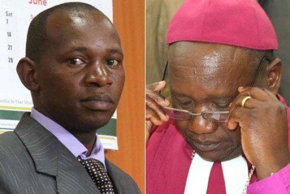 The Rev. James Maina Maigua (left) and Bishop Joseph Kagunda. (Photos courtesy of Nairobi News/Nation)
