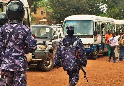 V roce 2016 policie zablokovala pátý výroční Pride Parade v Ugandě. (Foto s laskavým svolením Facebooku)