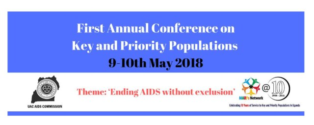 Online banner for planned AIDS conference in Uganda.