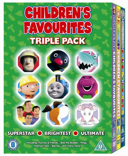Childrens Favourites Triple Pack Superstar Brightest ...