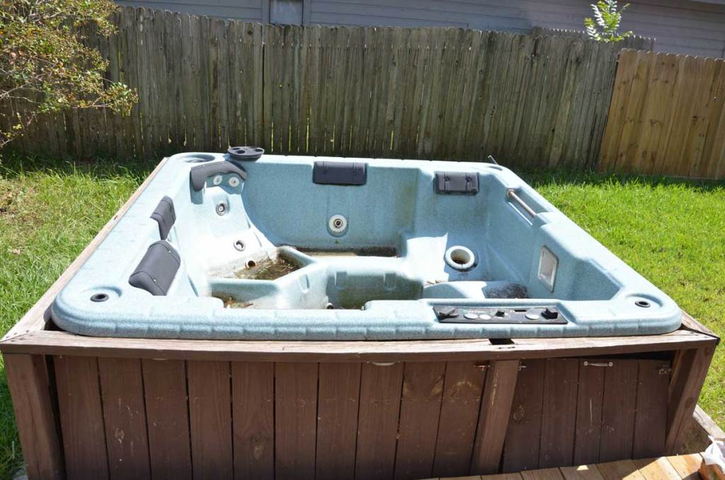 hot tub removal, junk removal