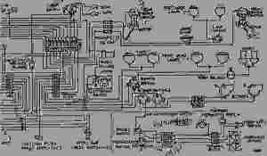 WIRING DIAGRAM  WHEELTYPE LOADER Caterpillar 992  992 WHEEL LOADER 25K0000100698 (MACHINE