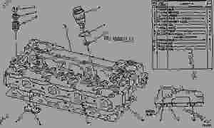 6N8098 CYLINDER HEAD GROUP CYLINDER HEAD GROUP  ENGINE