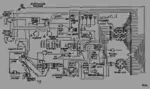 WIRING DIAGRAM  WHEEL TRACTORSCRAPER Caterpillar 657B  657B TRACTOR 68K0000100892 (MACHINE