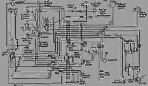 WIRING DIAGRAM  ENGINE  MACHINE Caterpillar D343  824B