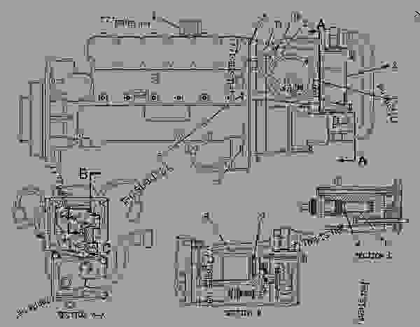 Cat C15 Fuel System. Diagrams. Wiring Diagram Images
