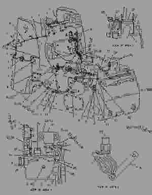 1938374 COVER GROUPFUSE PANEL  SKID STEER LOADER Caterpillar 226  216 226 228 Skid Steer