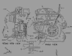 2093642 MOUNTING GROUPALTERNATOR  ENGINE  MARINE