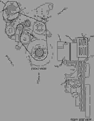 Cat C7 Serpentine Belt Diagram Sketch Coloring Page