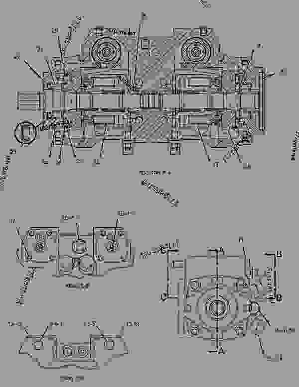 Pump Group Piston Hydrostatic