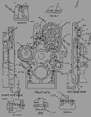 1271995 HOUSING GROUPFRONT  ENGINE  GENERATOR SET
