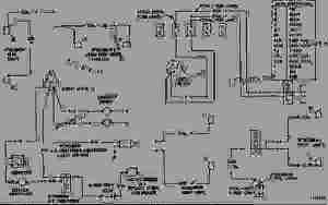WIRING DIAGRAM  TRACKTYPE LOADER Caterpillar 955L  955L