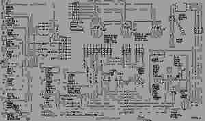 WIRING DIAGRAM  WHEELTYPE LOADER Caterpillar 950E  950B WHEEL LOADER 65R0000102823 (MACHINE