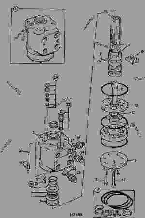 VALVE, STEERING  CONSTRUCTION JCB 2CX L  COMPACT BACKHOE LOADER, 98028800, M655030