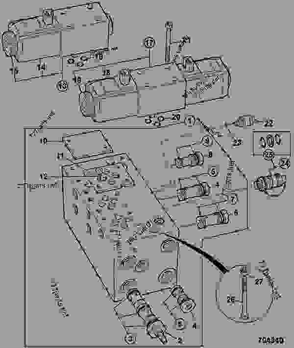 Hydraulic Controls Ford 3000