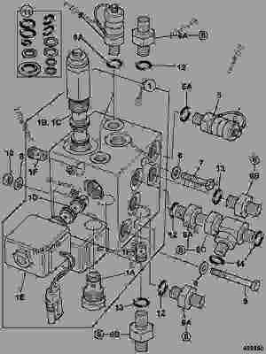 VALVE, MAINTENANCE, SERVO PRESSURE  CONSTRUCTION JCB 8032Z  MINI EXCAVATOR, 98025420