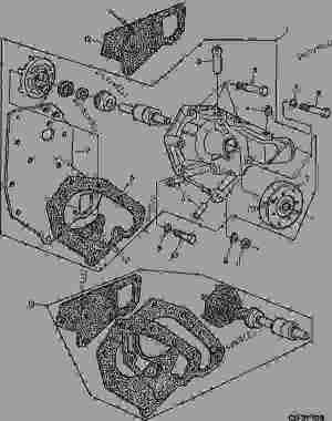 WATER PUMPSTANDARD FLOW  ENGINE SERIAL NO( 795106) [60