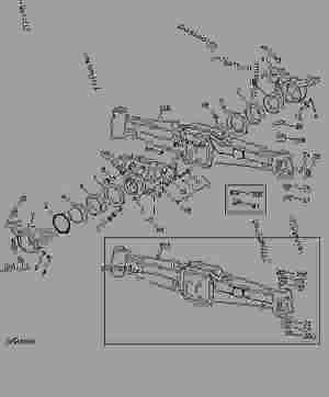 MFWD FRONT AXLE  TRACTOR John Deere 5300  TRACTOR  5200