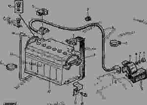 BATTERY (12V, 88AH) [10]  TRACTOR John Deere 2155