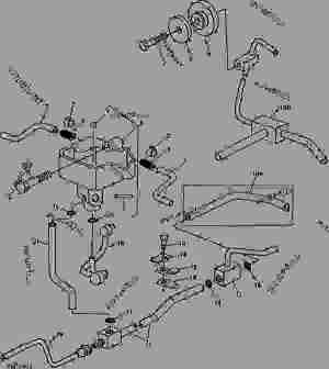 TRANSMISSION OIL LINES [02D13]  TRACTOR John Deere 2940