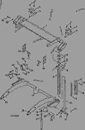 TENSION SYSTEM  BALER, ROUND John Deere 535  BALER