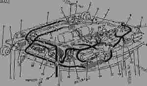 SOUNDGARD BODY ROOF WIRING (TSN 4050 006592; 4250 011453; 4450 022781)  TRACTOR John Deere
