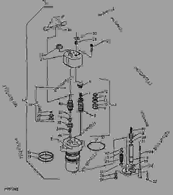 John Deere 455 Hydraulic Couplers