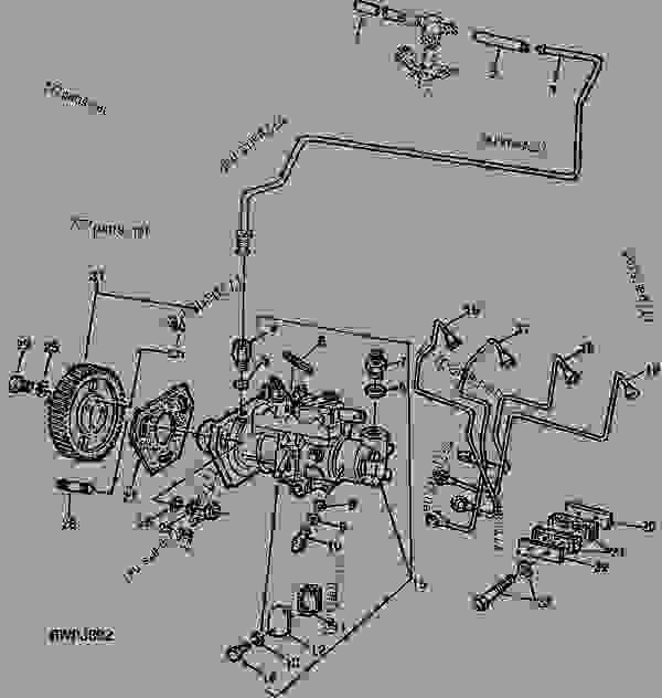 John Deere 2030 Parts Diagram