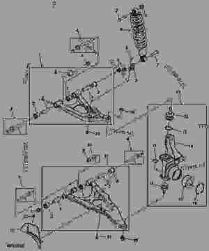 Front Suspension  UTILITY VEHICLE John Deere MIA11222