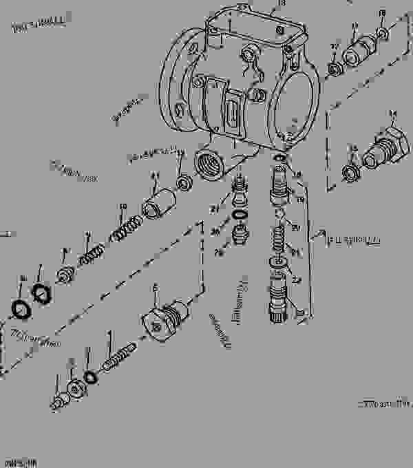 Stanadyne Injection Pump Parts Breakdown