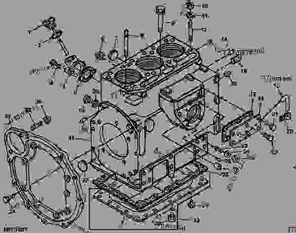 John Deere 850 Parts Diagram