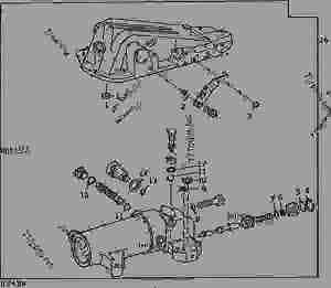 ROCKSHAFT REBUILD SEAL KIT [02H10]  TRACTOR John Deere