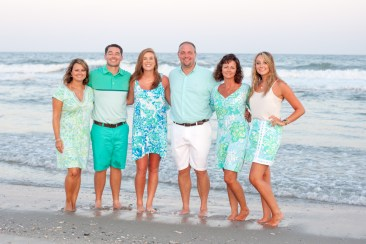 Family portraits in North Myrtle Beach