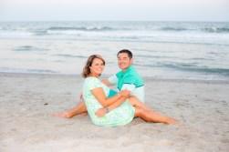 Anniversary pics on the beach