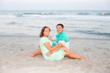 Anniversary pics on the beach