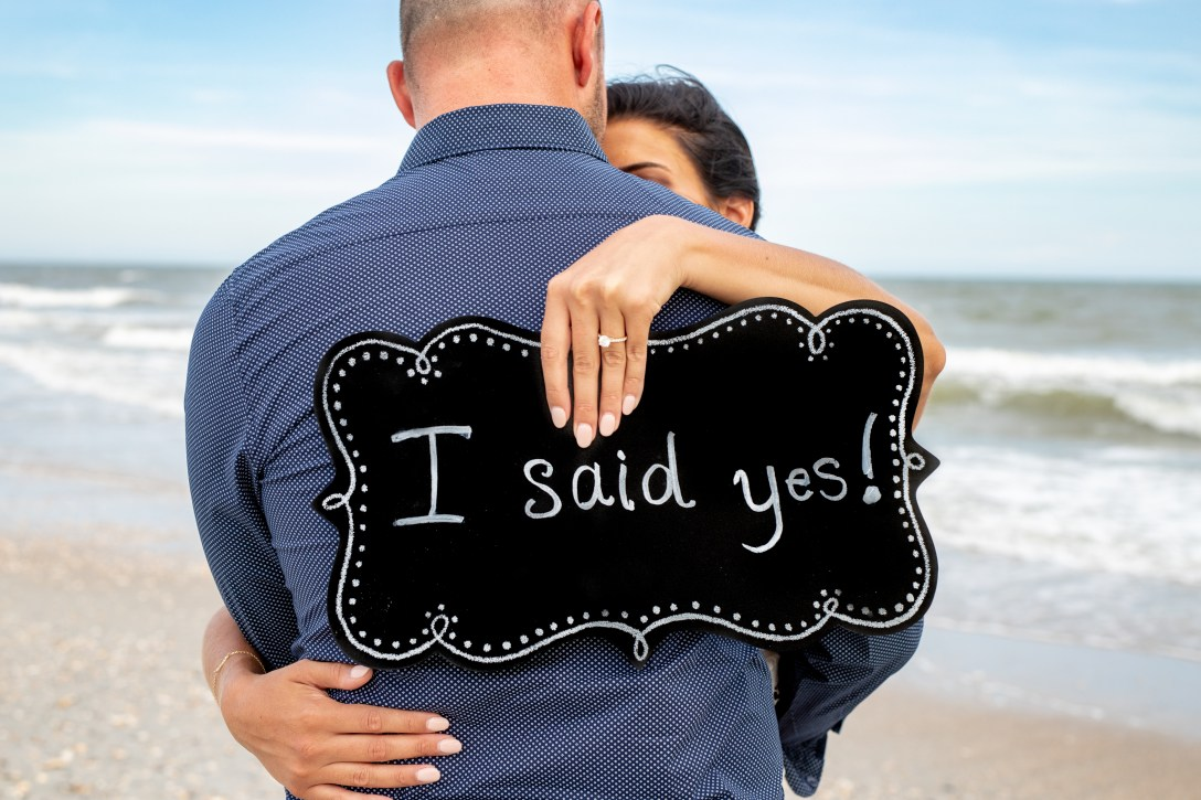 Myrtle Beach surprise proposal engagements