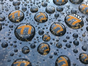 raindrops with the 77 design co logo within them. Is my business idle or moving forward?