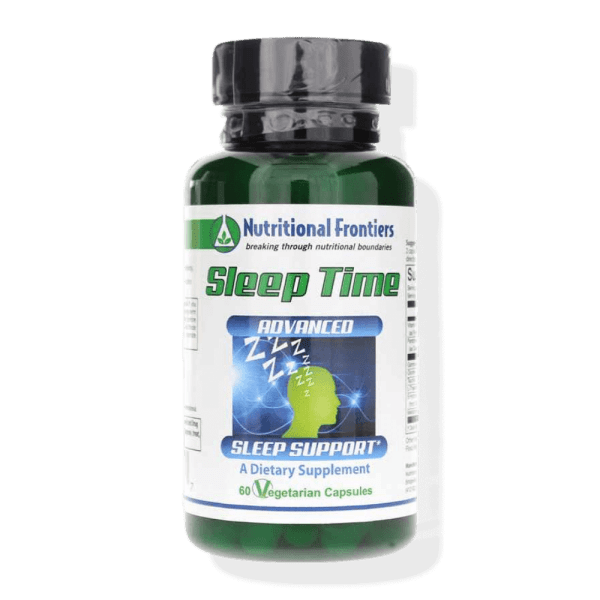 sleep time nutritional frontiers