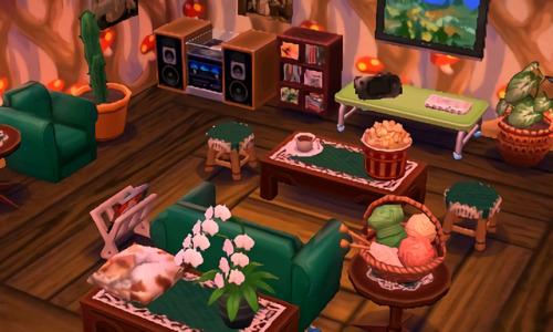 acnl decoration   Tumblr on Animal Crossing Living Room Ideas  id=24587