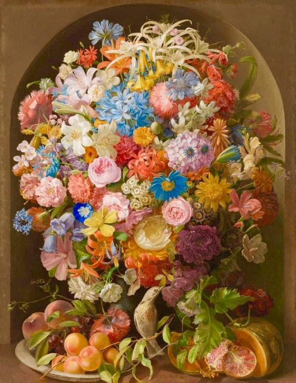 e22d29f67d67 Leopold Stoll, Flowerpiece, 1837, oil on canva… – Art