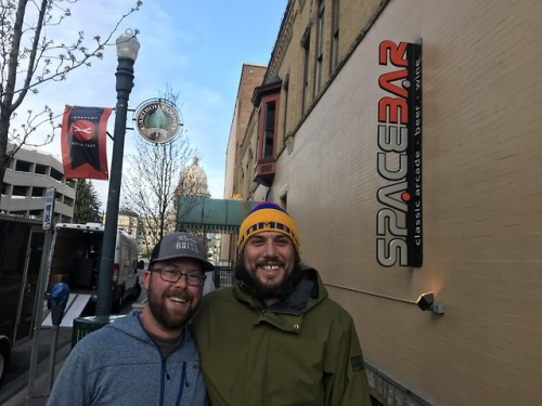 RadioBoise listeners spotted at Spacebar, a second chance venue. NMA