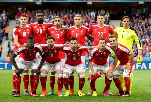 Nations League Team photos — Switzerland national football ...