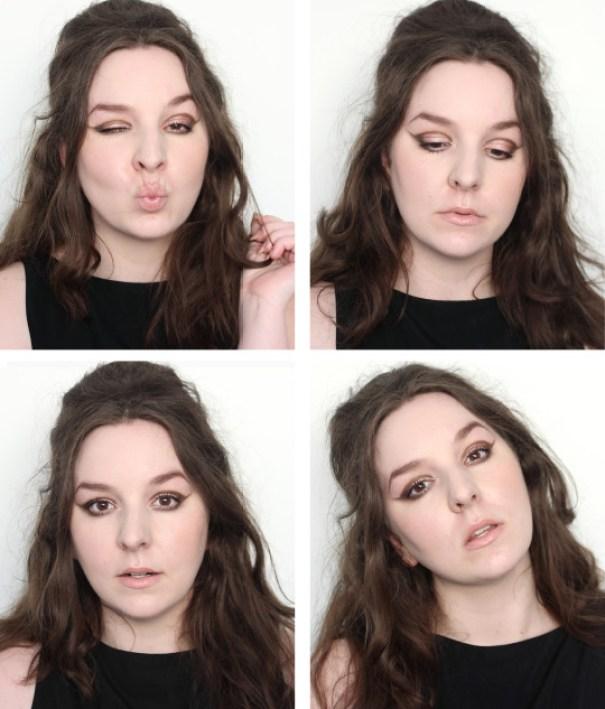 1960s Mod Girl Makeup Tutorial Cut Crease Barbara Streisand, Audrey Hepburn, Priscilla Presley inspired