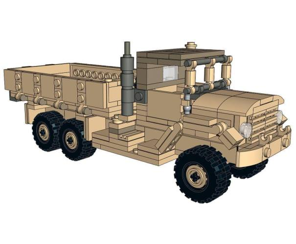 New 5 ton truck instructions are going into the Bricks In The… – Lego