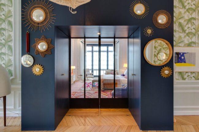 Apartamento ecléctico en París